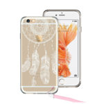 iPhone 6 Case, ESR iPhone 6 Hybrid Clear Case Hard Back Cover with Dream Catcher Pattern