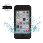 Redpepper Waterproof Shock Dirt Snow Proof Case Cover for iPhone 5C (Black)