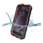 ZVE iPhone 6 Waterproof Case Shockproof Durable Full Protection Case Cover (Red)