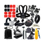 FUNNYKIT Accessories 40-in-1 Accessory Kit for Gopro Hero Cameras