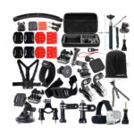 FUNNYKIT GoPro Accessories 49-in-1 Accessory Kit for Gopro Cameras