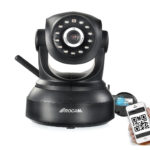 ROCAM NC300 Wireless IP Camera with Pan/Tilt/ Night Vision