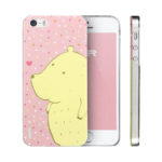 iPhone 5s Case, ESR iPhone 5/5s Clear TPU Soft Case with Cute Cartoon for iPhone 5/5s (Blossom Girl)
