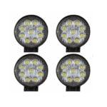 2 X 27W LED Headlights Work & Backup Lamp LED Lamp 12V 24V Floodlight