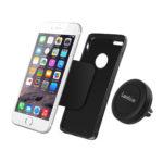 Car Mount Holder, Lanshion Universal MagGrip Air Vent Magnetic Car Mount Holder & Cradle All Smartphone (Black)