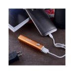 IMNEED Mini 3200mAh Lipstick Size Portable External Battery Charger Backup Charger (Orange)