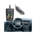 SUPEREX 10PCS Rechargeable 3V 400mAh CR123 (CR123a) 16340 Batteries + Dual Rapid Portable Rechargeable