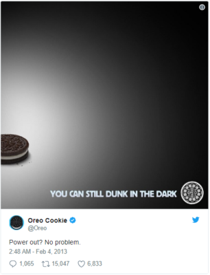Oreo viral content