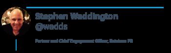 Artificial intelligence - stephen waddington