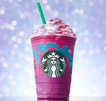 ~Starbucks - Unicorn Frappuccino on Instagram