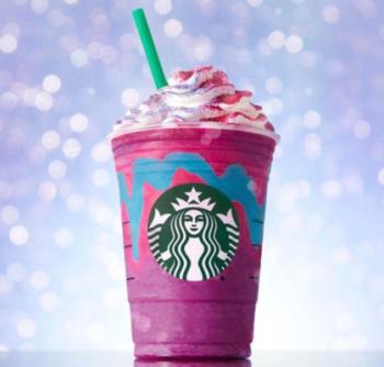 ~Starbucks - Unicorn Frappuccino on Instagram